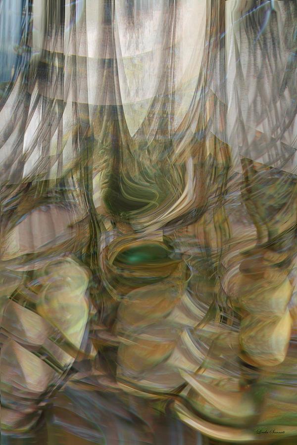 Lines Digital Art - Life Forms by Linda Sannuti
