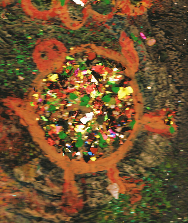 Turtle Mixed Media - Life In The Slow Lane by Anne-Elizabeth Whiteway