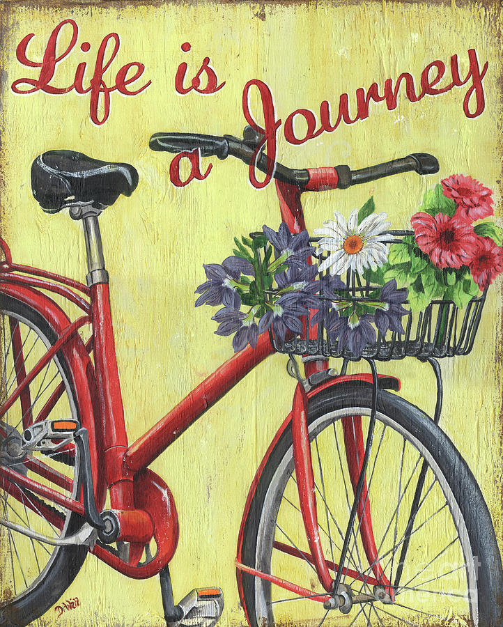 Life Is A Journey Painting by Debbie DeWitt