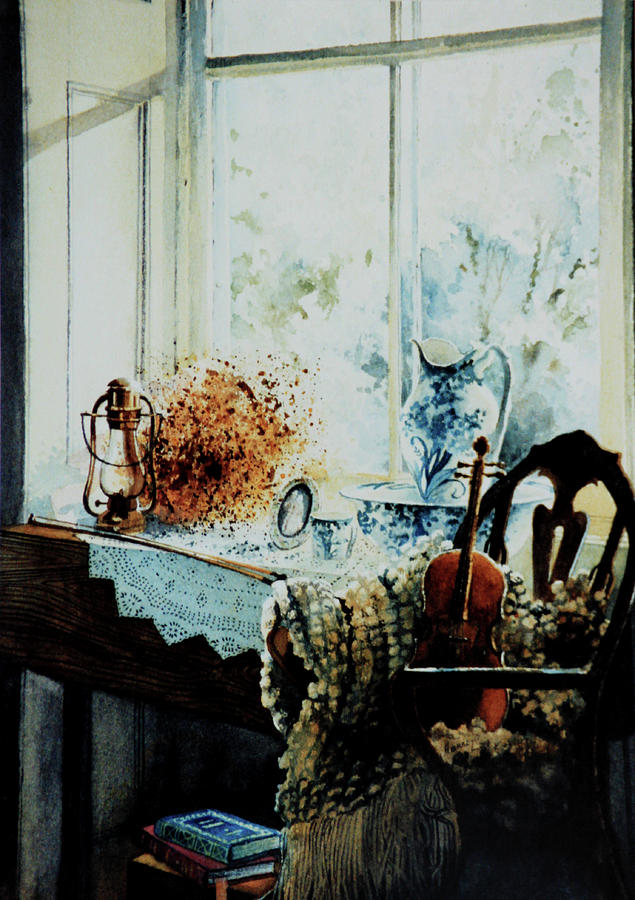 Still Life Painting - Life Is A Song by Hanne Lore Koehler