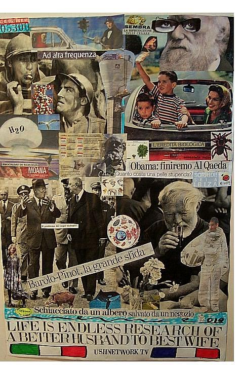 Life Is Endless Research Of A Better Husband To Best Wife Mixed Media by Francesco Martin