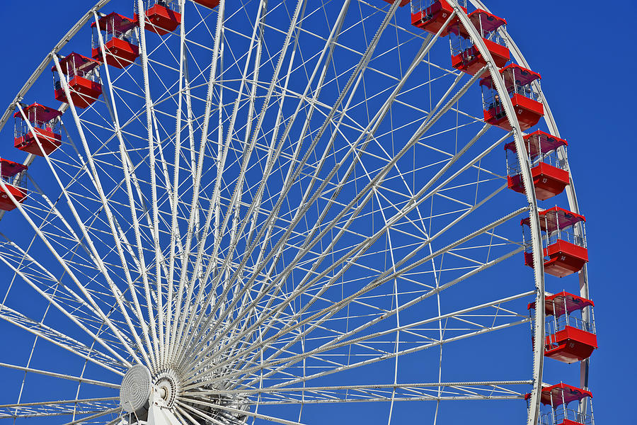 Wheels Photograph - Life Is Like A Ferris Wheel by Christine Till