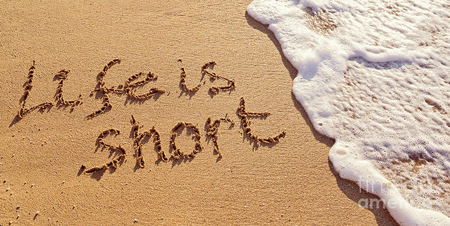 Life Is Short Photograph