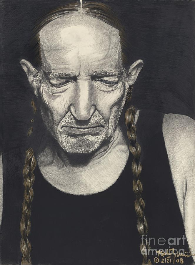 Willie Nelson Painting - Life Lines by Kelvin Winters