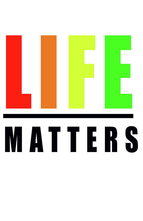 Life Photograph - Life Matters In Rainbow by Faith Bowman
