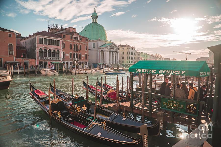 Italy Photograph - Life Of Venice - Italy by Jeffrey Worthington