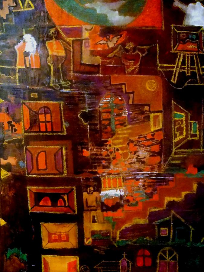 Life Pathwork Painting by Adalardo Nunciato  Santiago