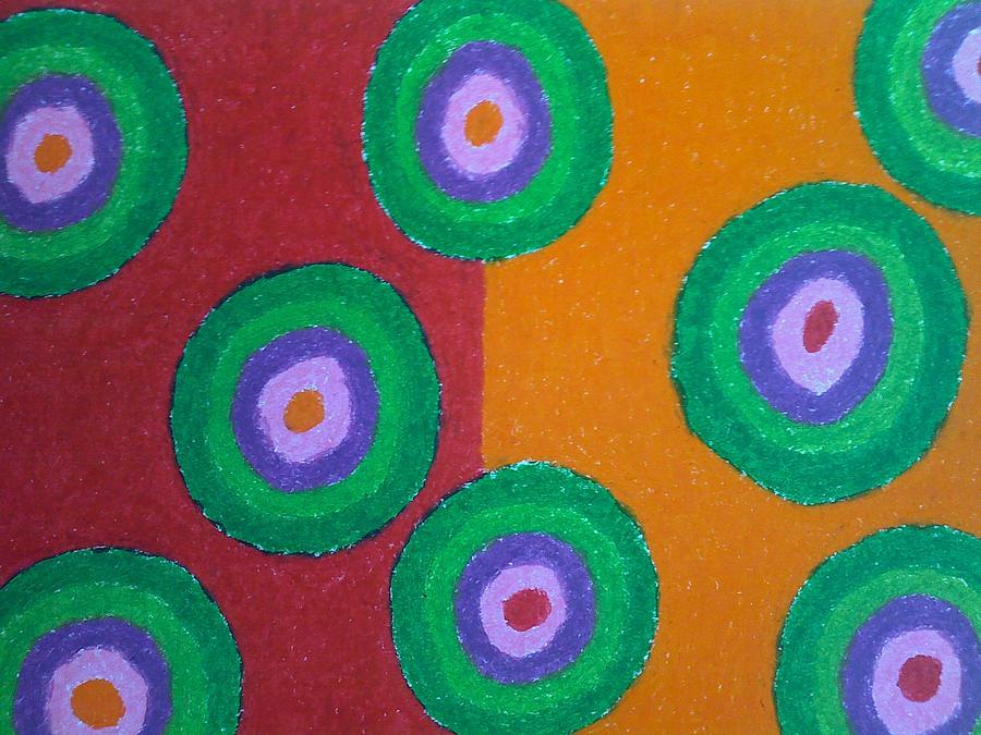 Oil Pastel Painting - Life Series by Yantie