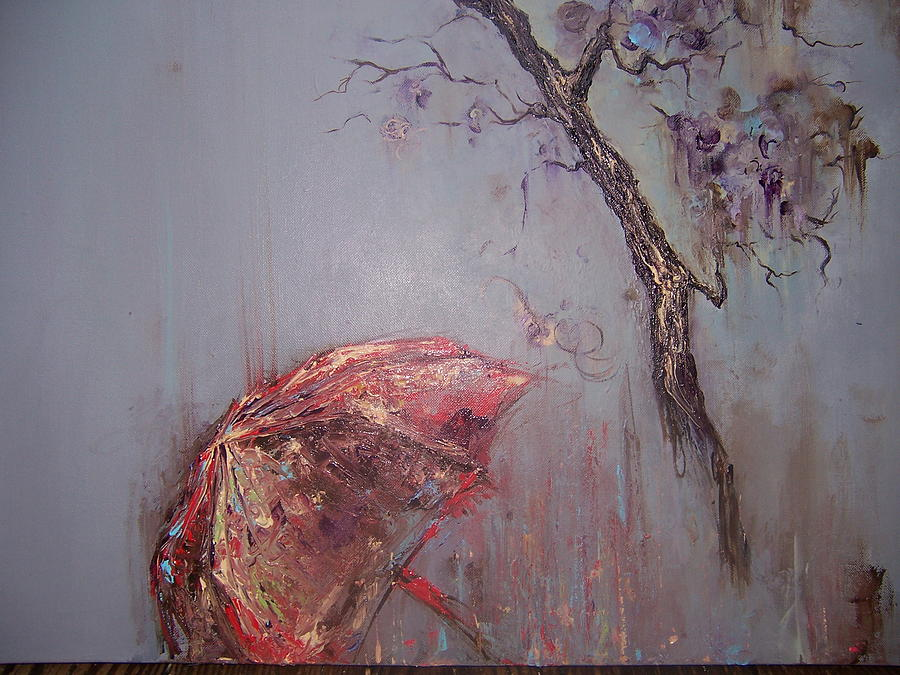 Tree Painting - Life Sold Private Collector by Summer Viljoen