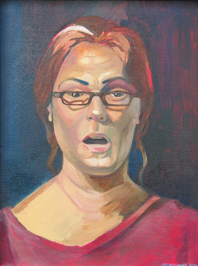 Life Study 2 Painting by Julie Orsini Shakher