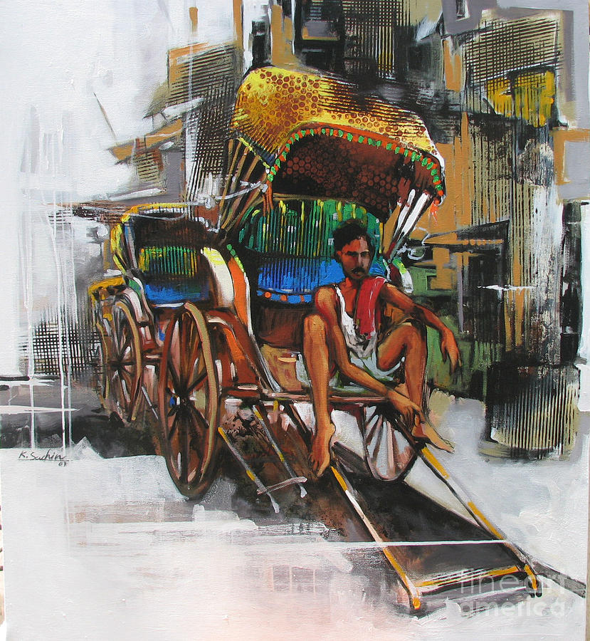 Life Styl Painting by Sachin Kute