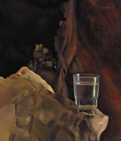 Water Painting - Life by Tony Warren
