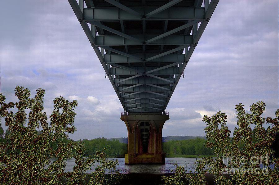 Bridge Photograph - Life Under A Bridge by The Stone Age
