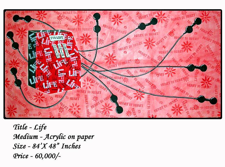 Painting Painting - Life by Yogendra kumar Purohit