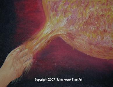 Lifegiving Warmth Painting by John Kosek