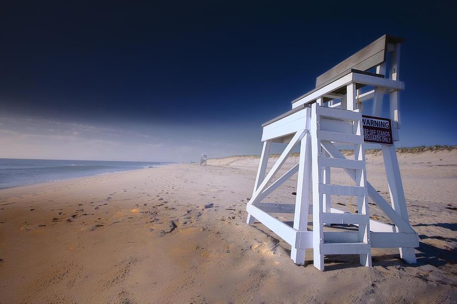 Lifeguard Chair Nauset Beach Photograph By Dapixara Art