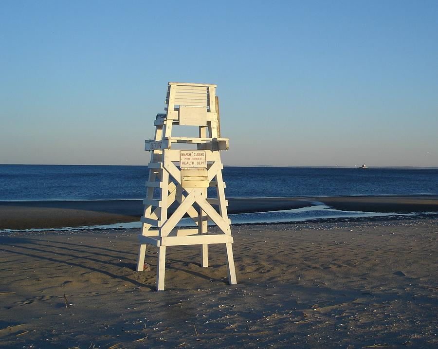 Lifeguard Chair Photograph   Lifeguard Chair By Margie Avellino