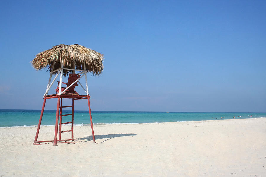 Beach Photograph - Lifeguard by Joe Burns