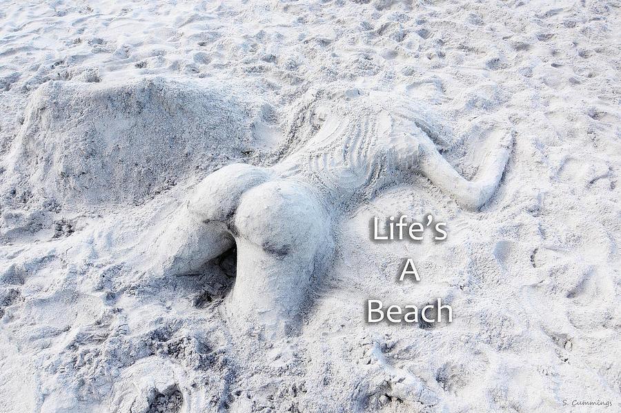 Beach Photograph - Lifes A Beach By Sharon Cummings by Sharon Cummings
