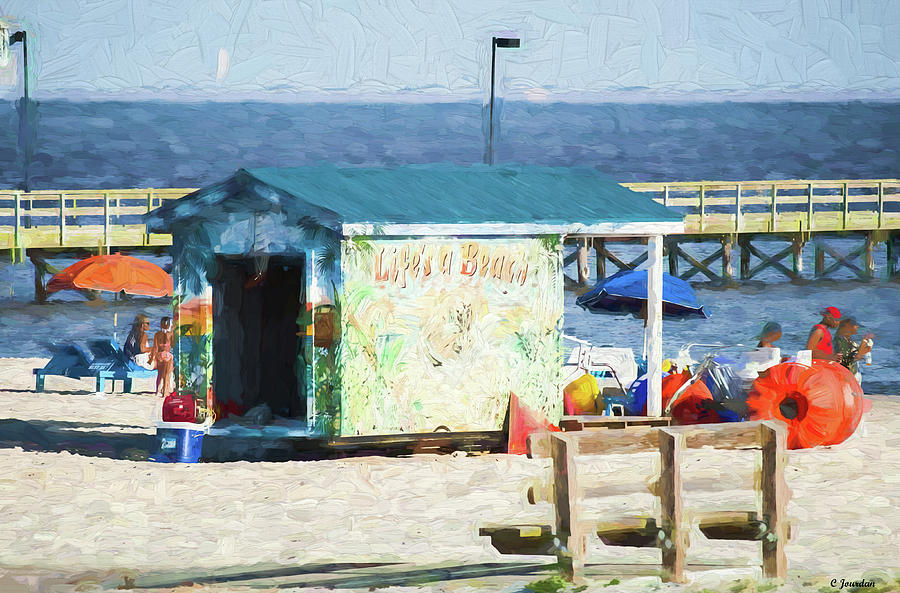 Life's a Beach by Cathy Jourdan