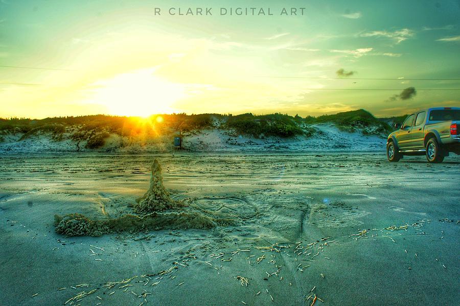 Lifes A Beach Digital Art by Robert Clark