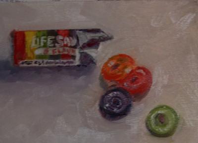 Lifesavers Painting - Lifesavers by Julieanne Nielsen