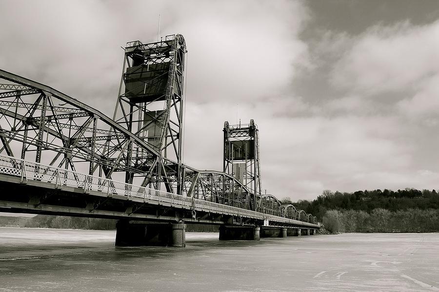 Bridge Photograph - Lift Bridge by Tess Haun