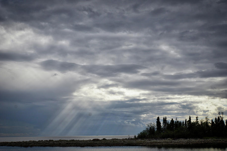 Light Photograph - Light After The Storm by Paki OMeara