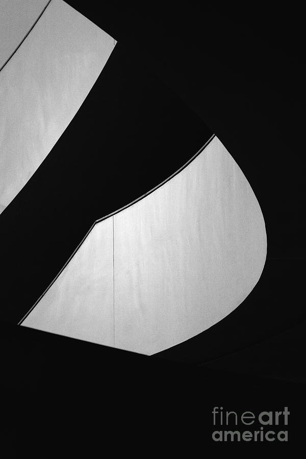 Abstract Photograph - Light And Dark by Hideaki Sakurai