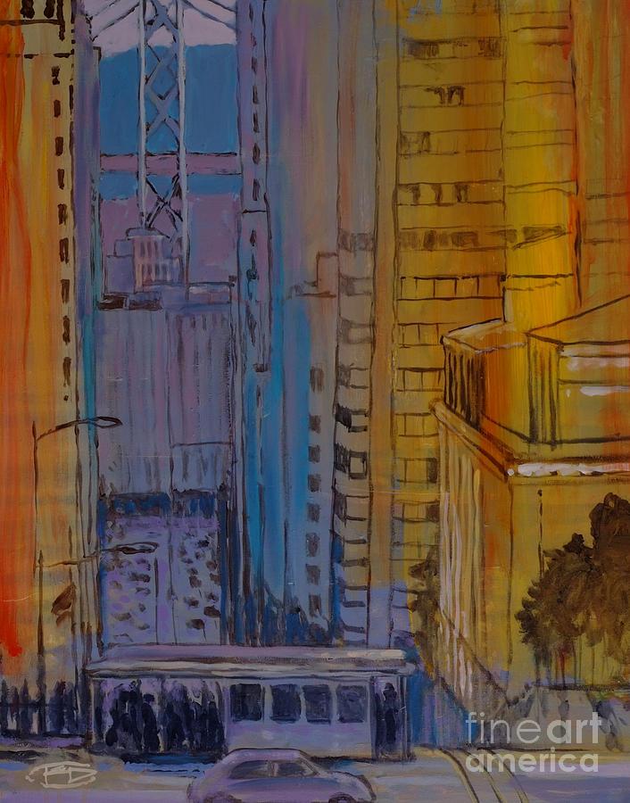 San Francisco Painting - Light And Dark by Kip Decker