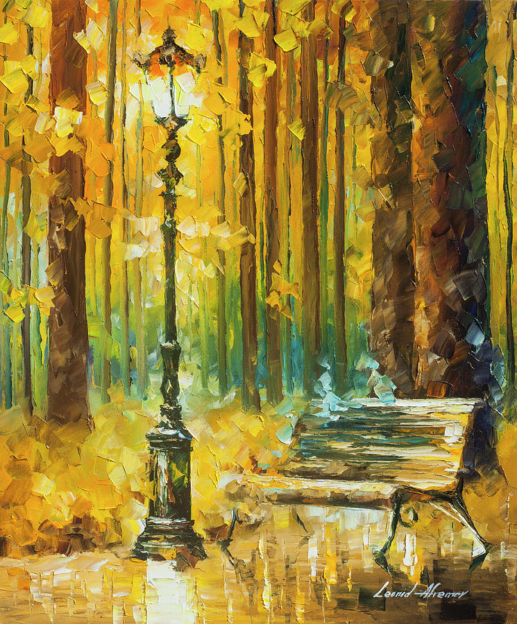 Painting Painting - Light And Passion by Leonid Afremov