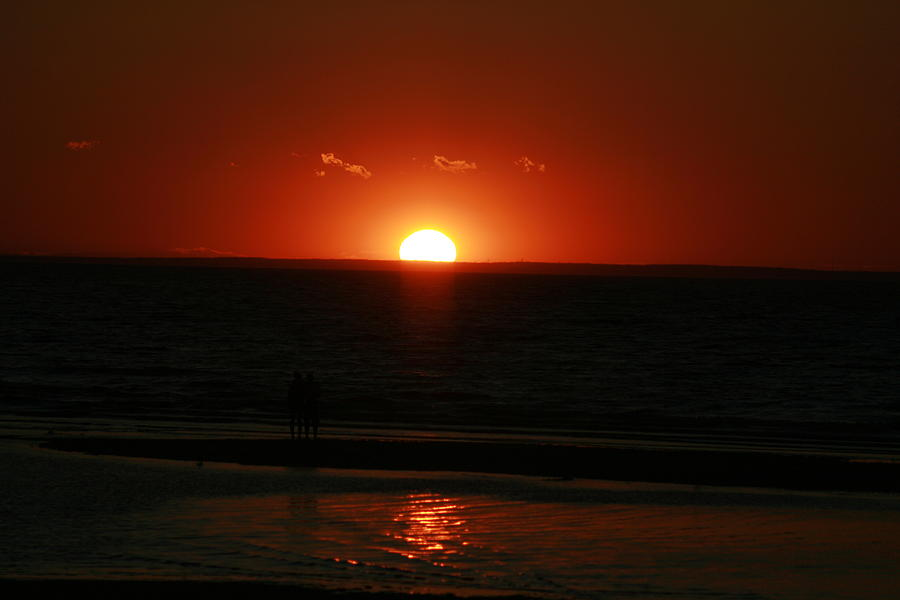 Sunset Photograph - Light At The End Of The Day by Lori Brandon