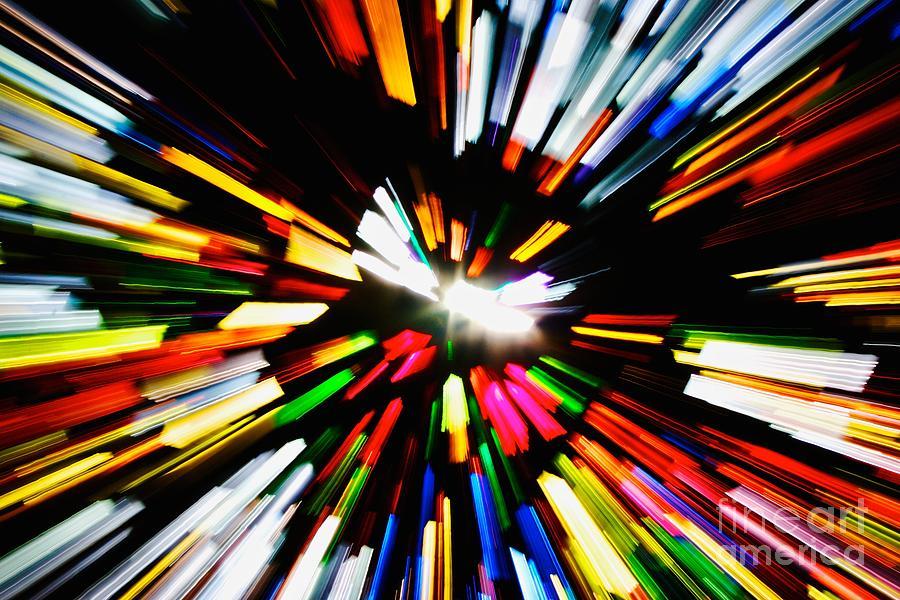 Light Photograph - Light Beams by Hideaki Sakurai