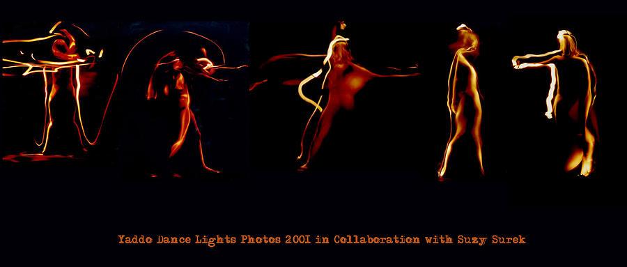 Light Dance Painting by Milena Stamboliyska