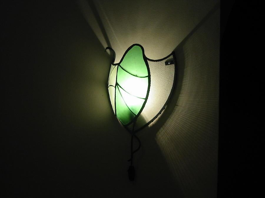 Lamp Glass Art - Light by Hanc Alexandru