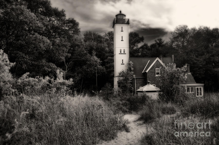 Lighthouse Photograph - Light House by Gaby Swanson