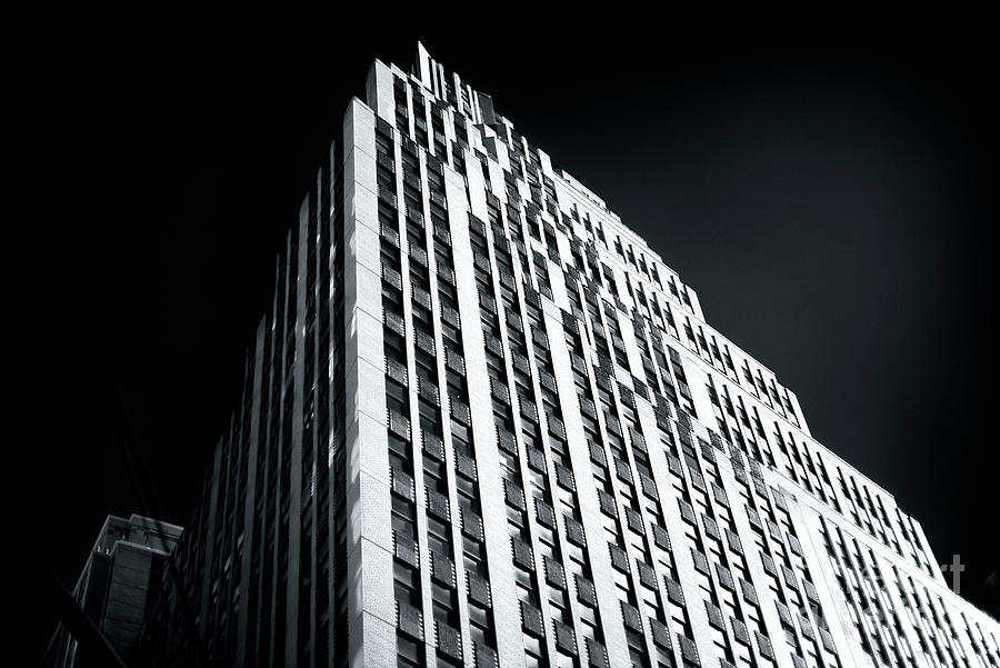 Naked City Photograph - Light In The Naked City by John Rizzuto