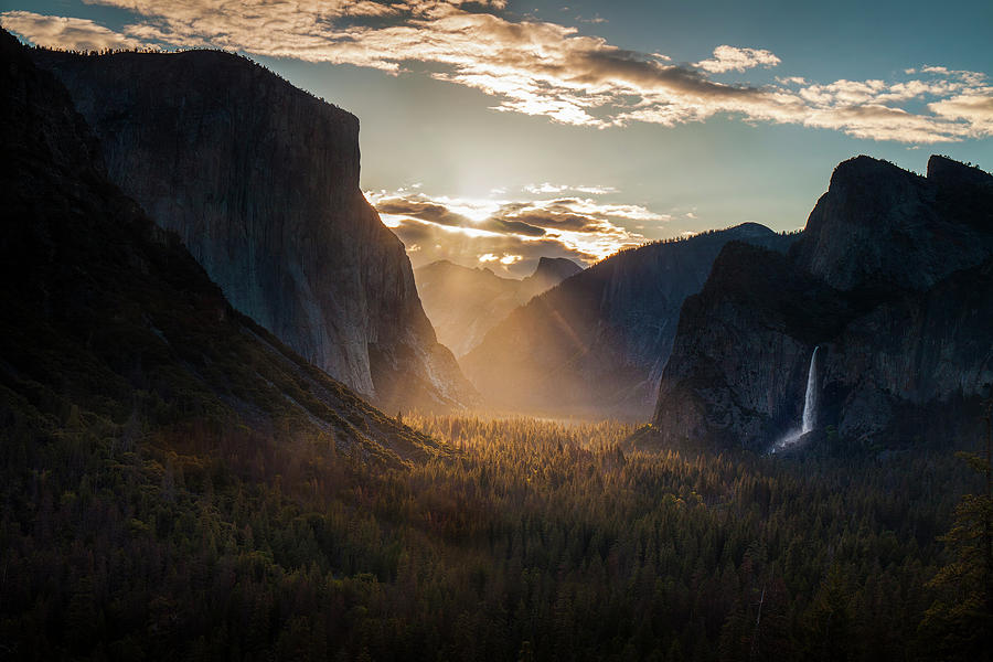 Light In The Valley Photograph