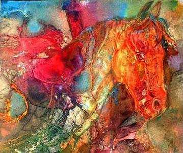 Light My Fire I Painting by Nina  Burke