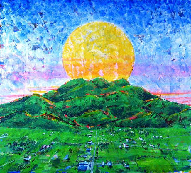 Sun Painting - Light Of Day by Rollin Kocsis