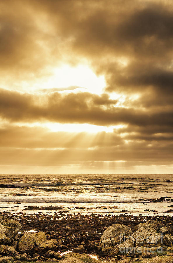 Beach Photograph - Light Of Dusk by Jorgo Photography - Wall Art Gallery
