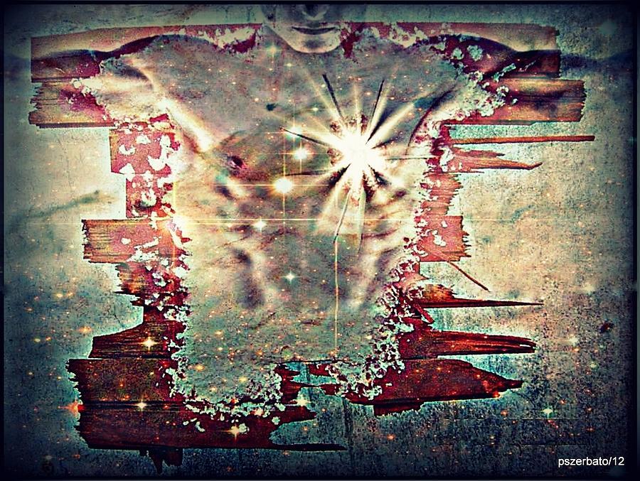 Light Digital Art - Light Of The Heart by Paulo Zerbato