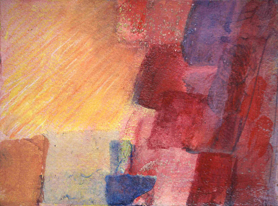 Abstract Painting - Light Over Yonder by Kevin Stevens