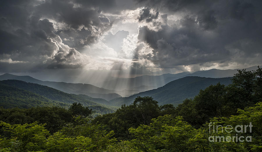 Landscape Photograph - Light Show Before The Storm. by Itai Minovitz