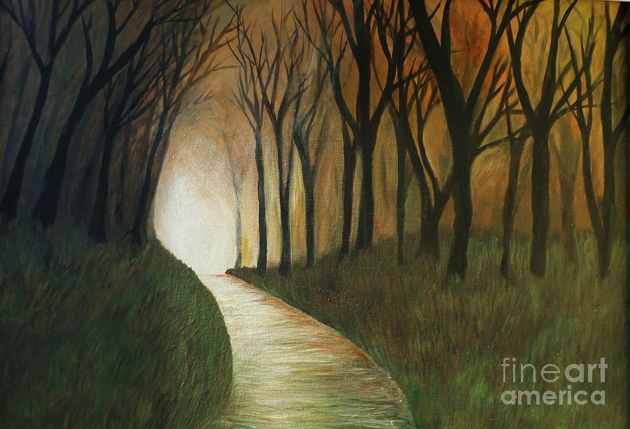 Light The Way Painting