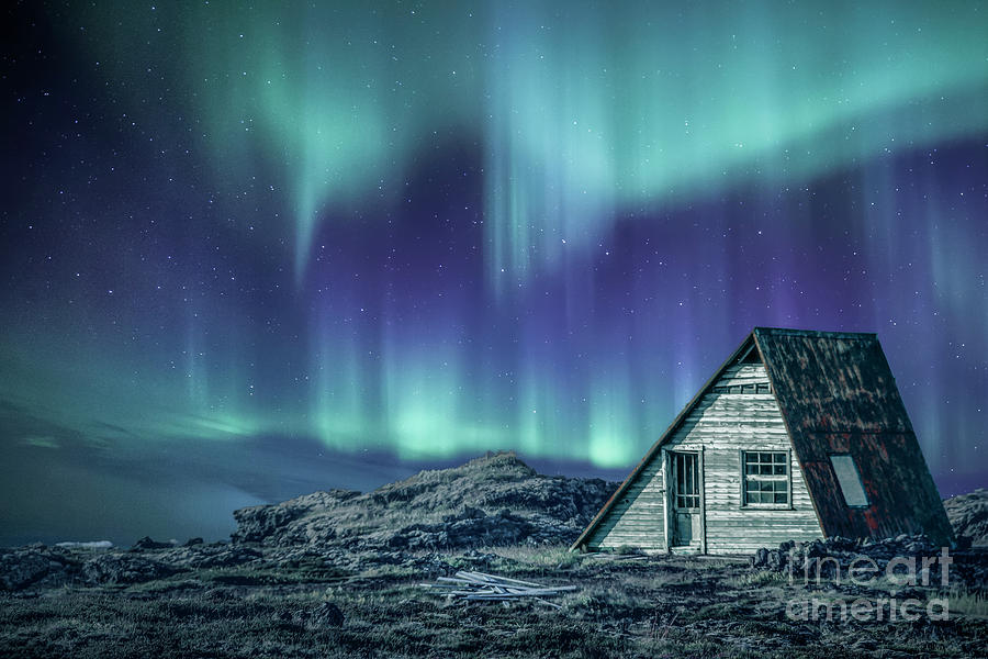 Aurora Photograph - Light Up My Darkness by Evelina Kremsdorf