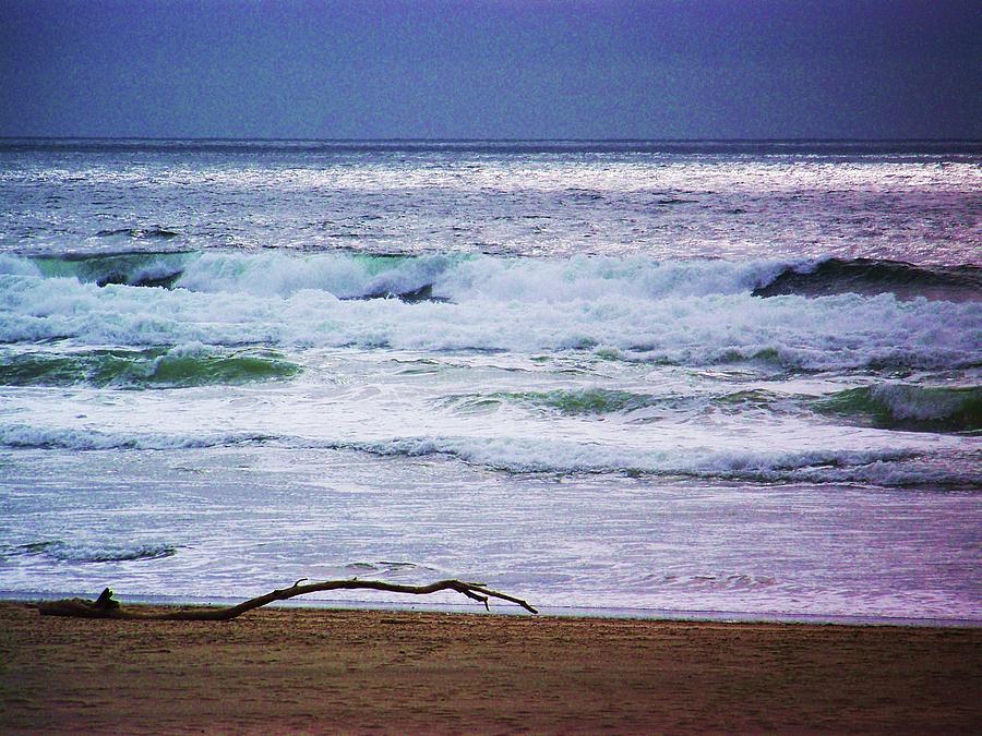 Landscape Photograph - Light Waves To Sand by Julie Rauscher