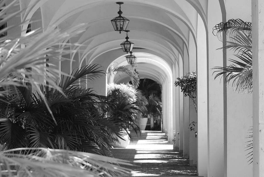 Architecture Photograph - Lighted Arches by Rob Hans