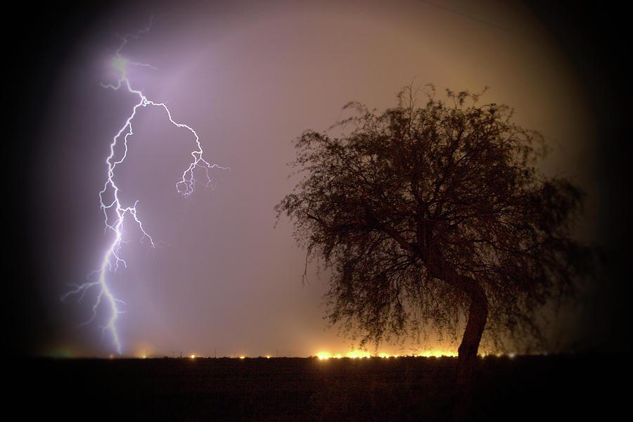 Lightening Photograph - Lightening by Hugh Smith