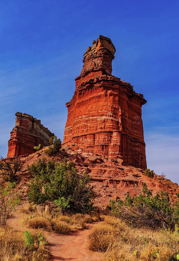 Lighthouse At Palo Duro Canyon Photograph